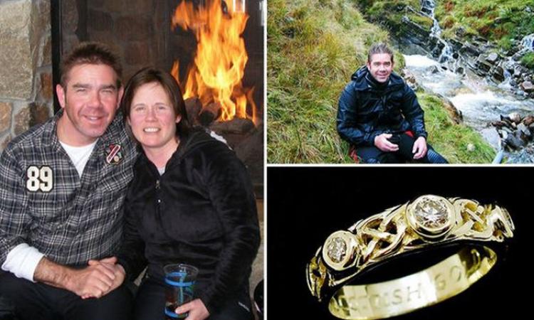 اسكتلندى يستغرق 18 شهرًا من البحث عن الذهب فى الجبال من أجل عروسته