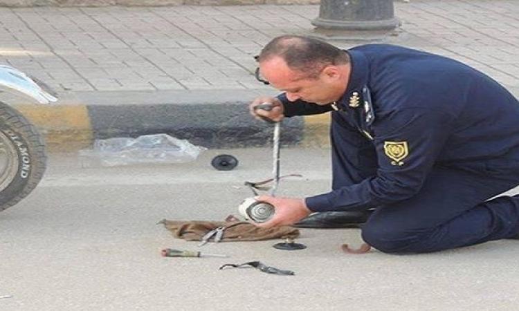 إبطال مفعول قنبلة بميدان عبد المنعم رياض