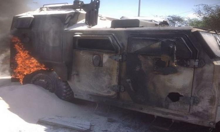 ارتفاع ضحايا تفجير شمال سيناء الى 26 شهيدا و27 مصابا