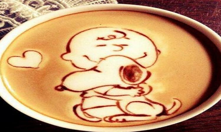 بالصور .. شرب القهوة بشكل مختلف