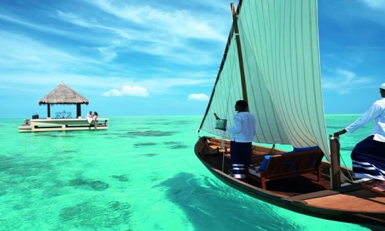بالصور .. سحر وجمال جزر المالديف