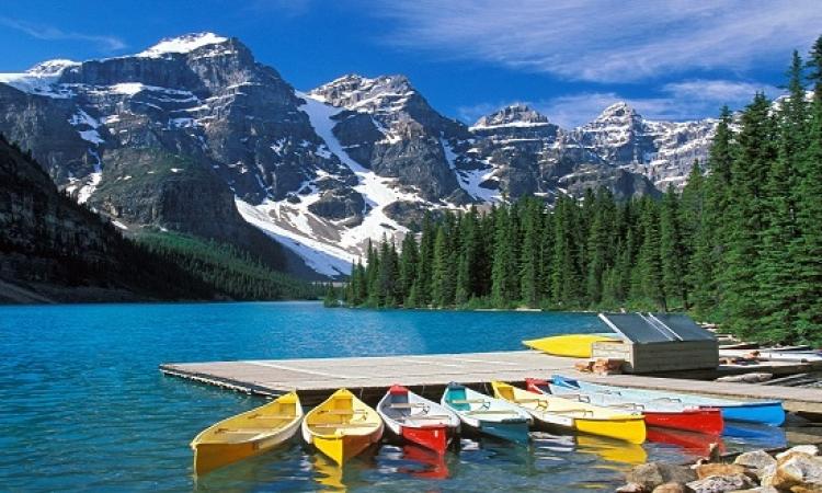 جبال كندا الساحرة .. استمتع بالتلج فى عز الصيف