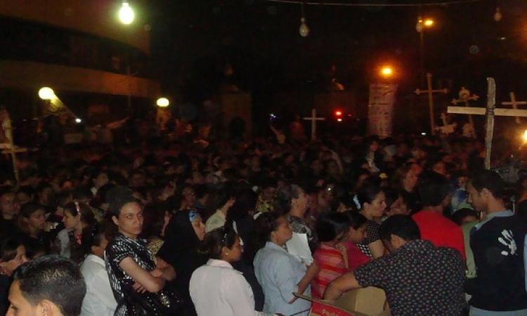 الذكرى السنوية لأحداث ماسبيرو و ترديد شعارات ضد الجيش