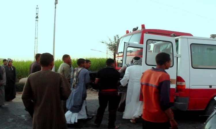 مصرع طفل وإصابة 3 في حوادث متفرقة بالمنيا
