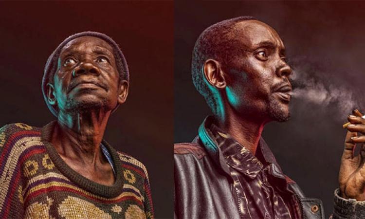 بالصور .. مصور كينى يبرز ثقافة بلاده من خلال تعبيرات وجه البشر