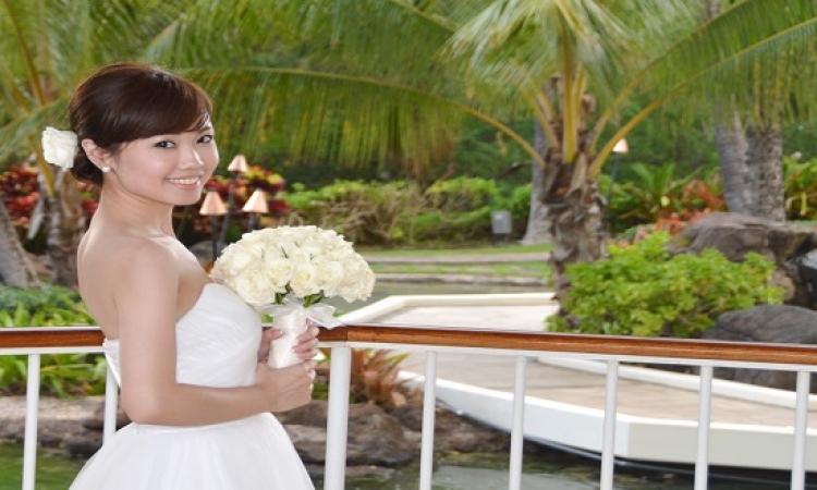 من غير عريس أفضل … الزفاف المنفرد أحدث صيحة للزواج فى اليابان