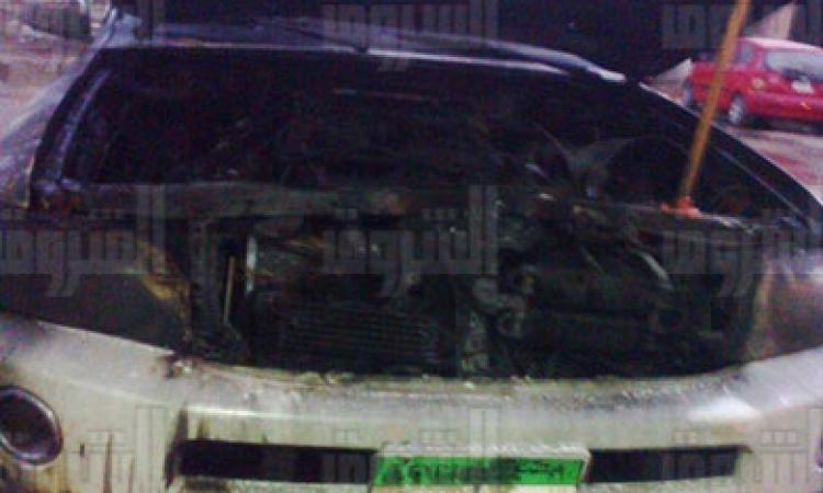 مجهولون يحرقون سيارتين للقنصلية السعودية بالسويس