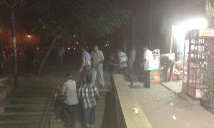بالصور.. انفجار سيارة مفخخة أمام دار القضاء العالي