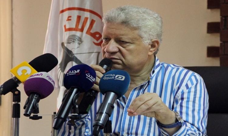 مرتضى منصور .. لو حازم إمام وممدوح عباس رجالة ينزلوا الانتخابات