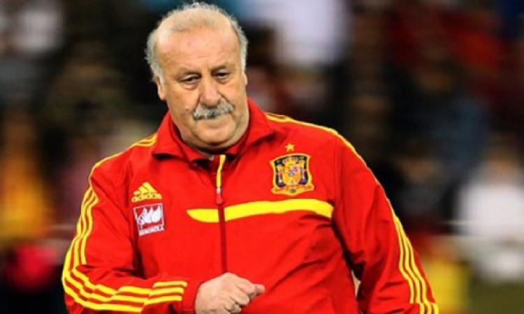 ديل بوسكي ينوي الرحيل عن منتخب اسبانيا بعد بطولة اوروبا 2016