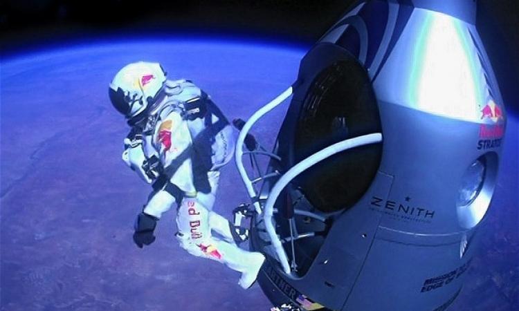 تحطيم رقم فيليكس لأعلى قفزة من الفضاء