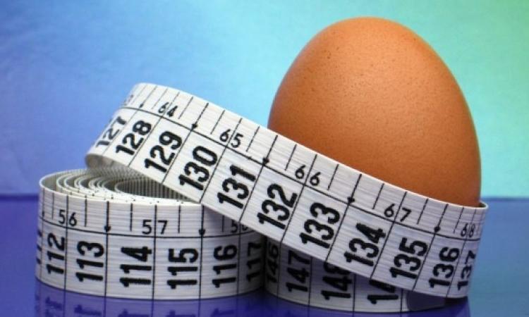 رجيم البيض لإنقاص الوزن في أيام