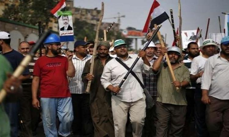 """بالفيديو .. تحالف مرسى : لا جدوى من السلمية و"""" العنف """" هو الحل الوحيد """"لاسقاط النظام"""" .. أيوه كده اخلعوا الاقنعة !!"""