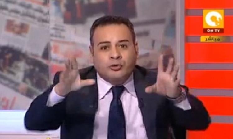 بالفيديو.. «القرموطي» بملابس الكاراتيه على الهواء تشجيعاً للمنتخب المصري للكاراتيه