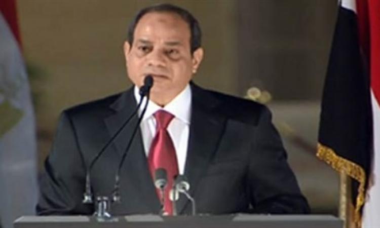 الرئيس عبد الفتاح السيسي ينعى ضحايا حادث تصادم البحيرة