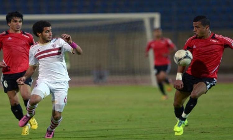 الزمالك يصعد لدور ال 8 فى كأس مصر بعد تغلبه على حرس الحدود بثلاثية مقابل هدف