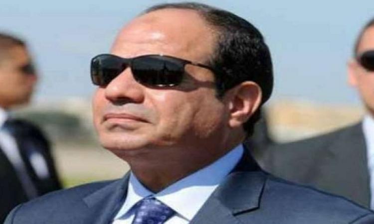 الرئيس يزور مقر المخابرات العامه ويوجهه رساله خاصه لهم
