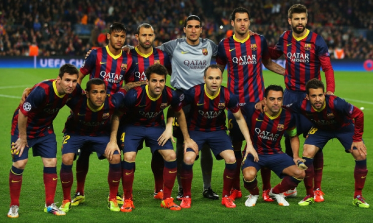 بالصور .. تدريبات برشلونة قبل مباراة البايرن