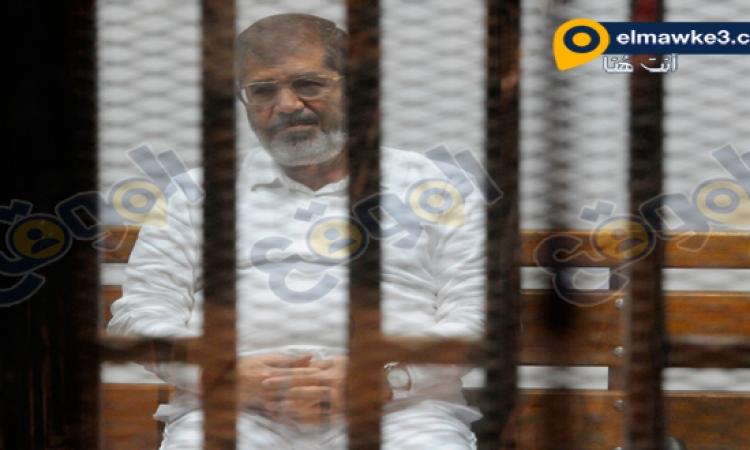 """تأجيل محاكمة مرسي وآخرين بقضية """"أحداث الاتحادية"""" لـ9 ديسمبر"""