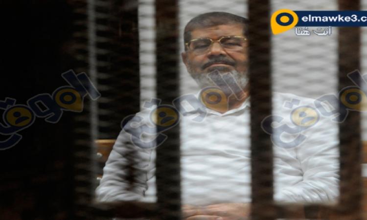 """تأجيل محاكمة مرسى فى قضية """"الاتحادية"""" ل 8 نوفمبر"""