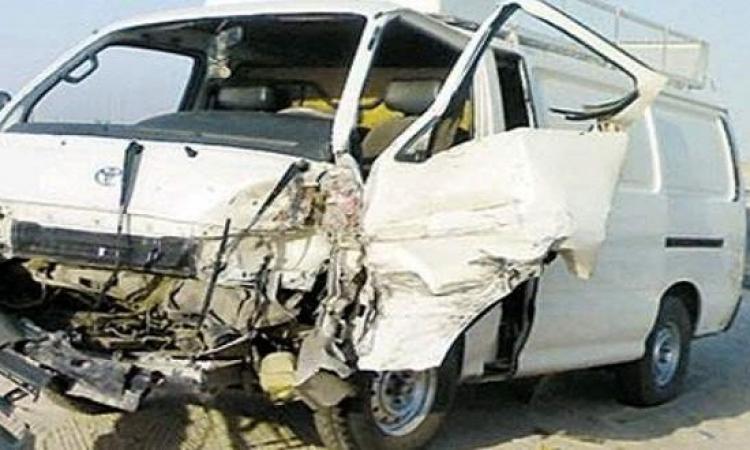 مصرع شخصين وإصابة 5 فى حادث انقلاب سيارة بطريق السويس الإسماعيلية