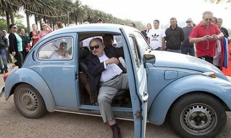 سيارة رئيس أوروجواى.. ثمنها لا يتخطى 10آلاف دولار ورفض بيعها بمليون دولار