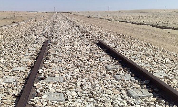 """سرقة خط السكة الحديد """"سفاجا – قنا"""""""
