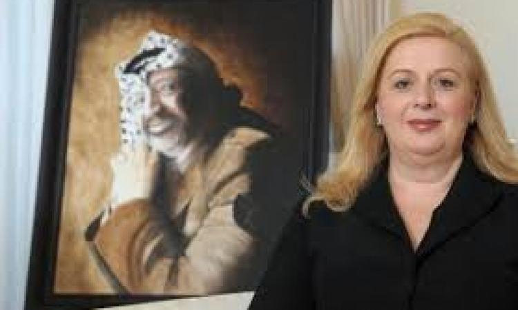 سهى عرفات تُهنئ سوزان مبارك وتعلن : سأزوره بنفسى