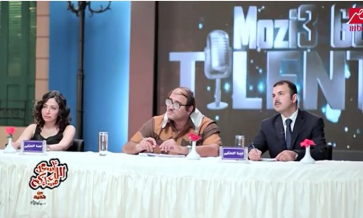 """بالفيديو .. أبو حفيظة وكربون لمقدمي التوك شو في """" مذيع جوت تالنت """""""