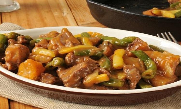 طبق اليوم .. صينية اللحم بالخضراوات