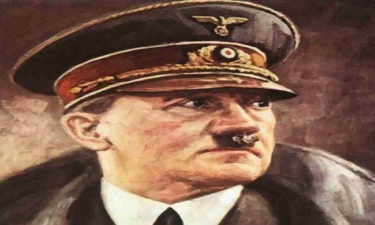 وسط حروبه كان عنده وقت يرسم .. عرض لوحة رسمها هتلر بالألوان المائية للبيع !!