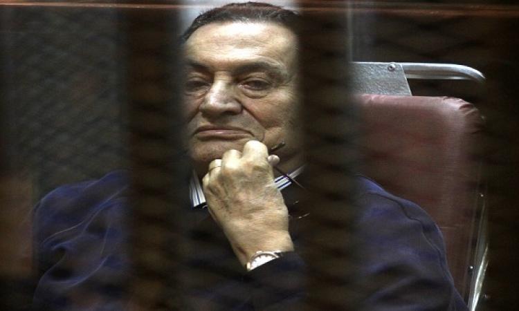 """النيابة العامة تصدر قرارها بشأن حبس مبارك فى """" القصور الرئاسية """" خلال يومين"""