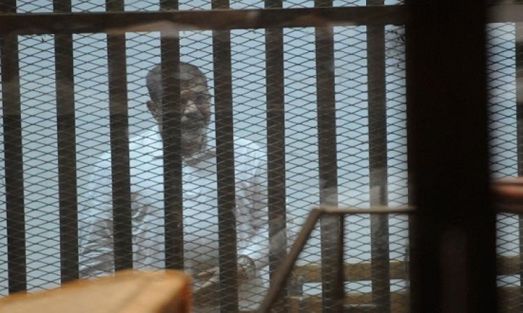 الجنايات تستمع اليوم لدفاع مرسى فى قضية أحداث الاتحادية