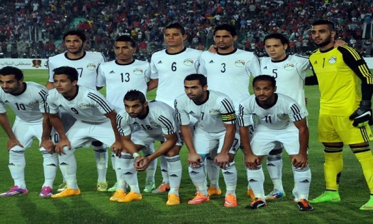 منتخب مصر يتوجه لتونس استعداداً للقاء الاربعاء المقبل