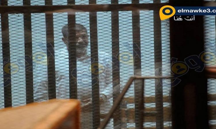 بالصور .. جلسة محاكمة مرسي في احداث الاتحادية