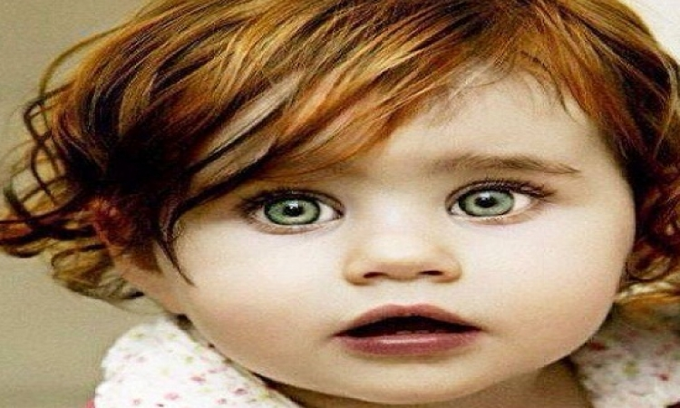 بالصور .. سحر عيون الاطفال