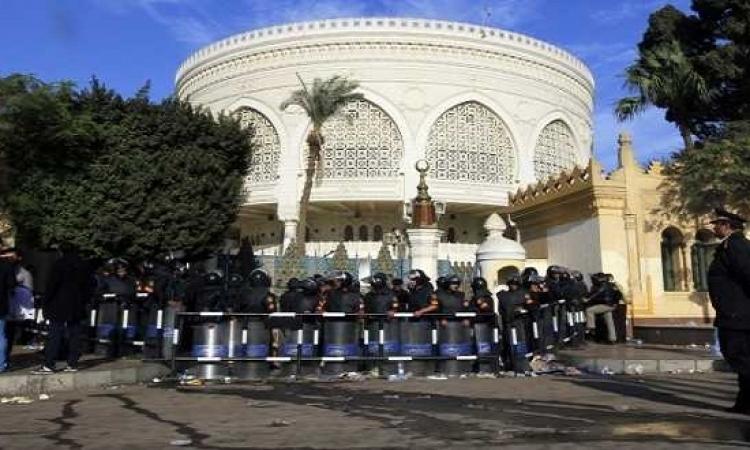 الأمن يفتح شارعى الأهرام والميرغنى بمحيط قصر الاتحادية