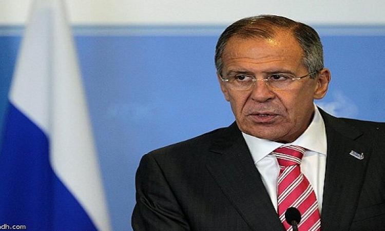 لافروف : التدخل العسكرى فى ليبيا يحتاج لموافقة مجلس الأمن
