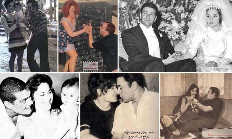 شاهد صور لم تراها من قبل لثنائيات السينما المصرية