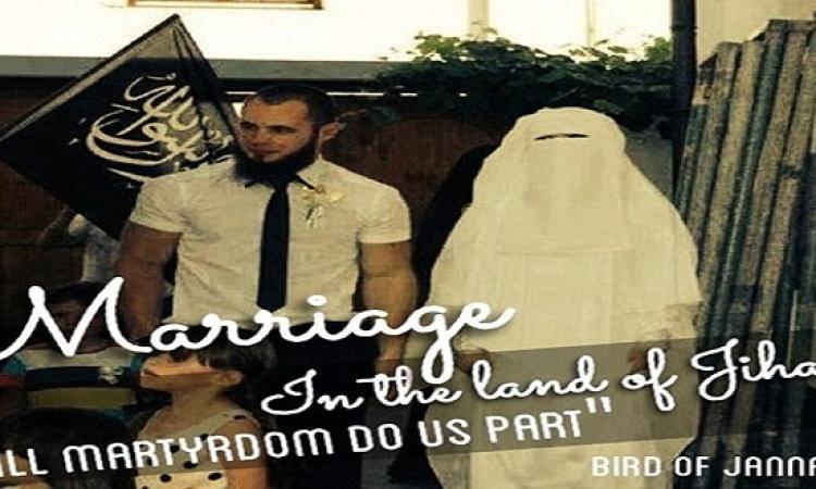 """طبيبة ماليزية تنشر صور زفافها على """"داعشي"""" وتلقب نفسها بـ """"عروس الإرهاب"""""""