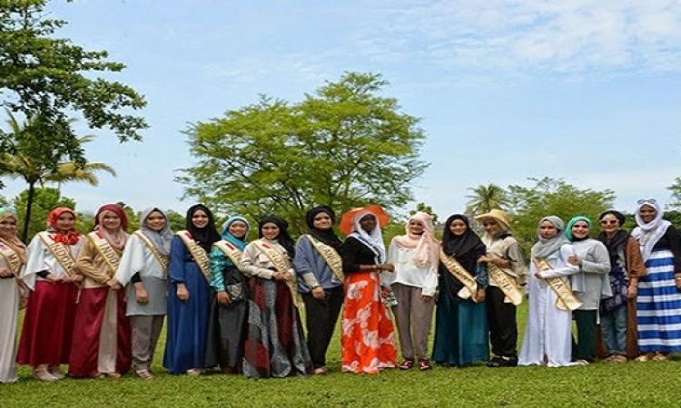 بالصور.. مسابقة ملكة جمال العالم الإسلامي لعام 2014