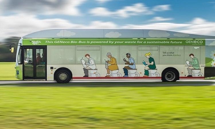 تشغيل أول حافلة بريطانية تعمل بمخلفات بشرية وبقايا الطعام