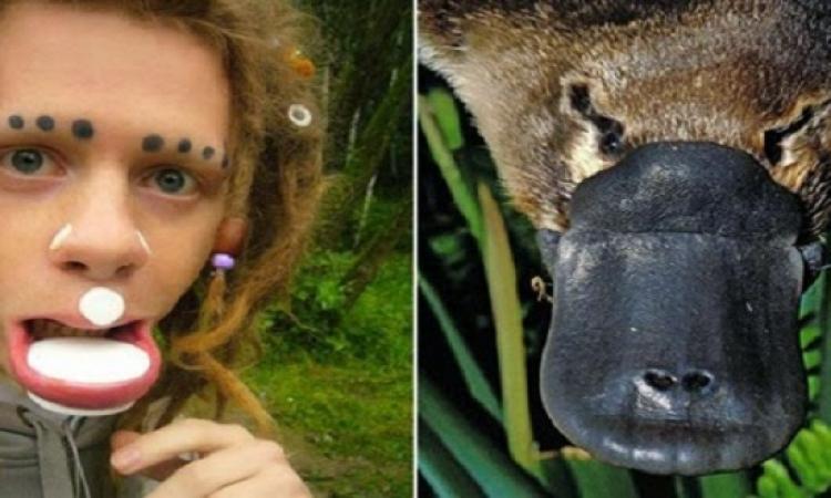 """بالصور ..شاب يستغرق 7 سنوات ليتحول """"لحيوان"""" !!"""