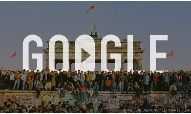 المانيا وجوجل يحتفلان بالذكرى ال 25 لسقوط جدار برلين