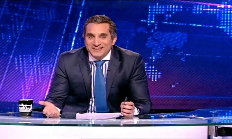 """باسم يوسف عن قرار تغريمه 50 مليون جنيه : """"لست طرفًا فى الخلاف"""""""