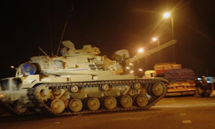 قوات الأمن تطلق نيران تحذيرية بسماء مدن شمال سيناء