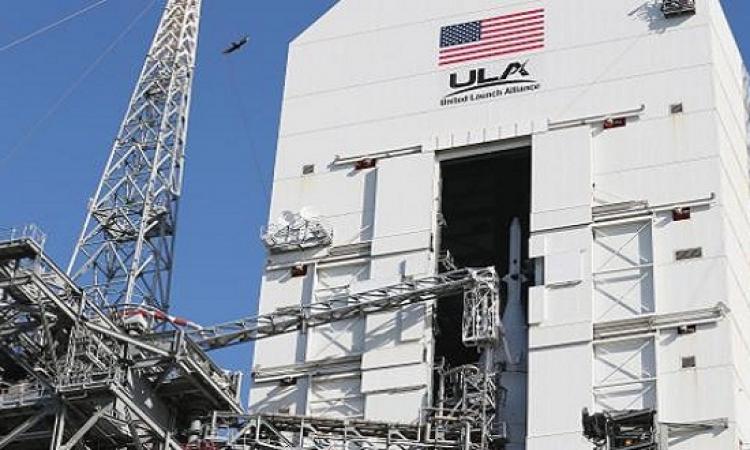 """بالفيديو.. """" ناسا """" تطلق كبسولة الفضاء التجريبية """" أوريون """""""
