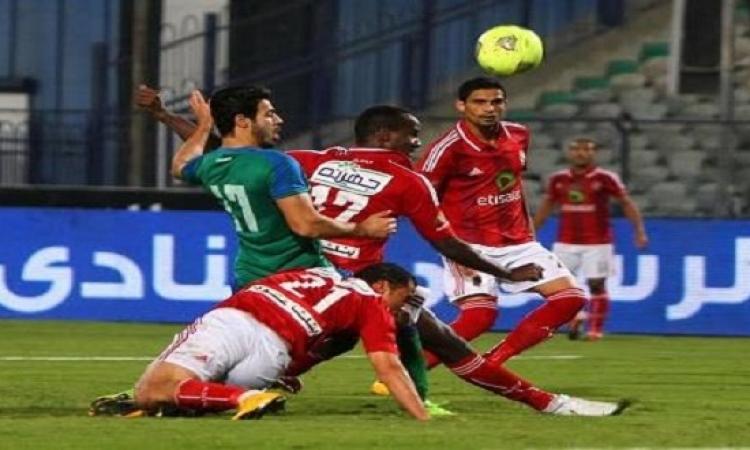 الأهلى يتجاوز صدمة مباراة الاتحاد بالفوز على المقاصة