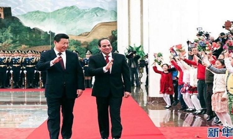 السيسى يختتم زيارته للصين بزيارة مقاطعة سيشوان
