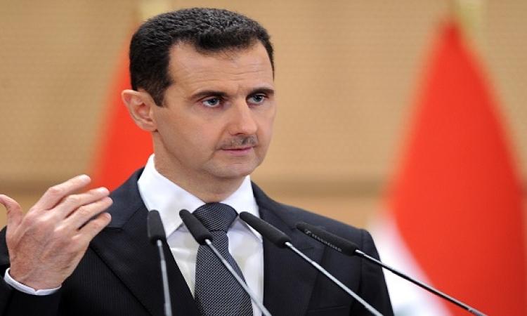 بالصور .. بشار الأسد: أردوغان سفاح